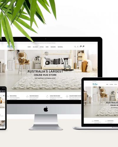 The Rugs (Web Design)